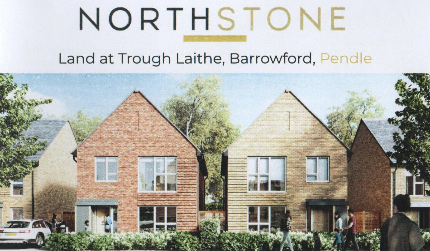 Image of North Stone houses proposed for Trough Laithe, Barrowford